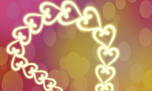 heart chain photoshop brushes free