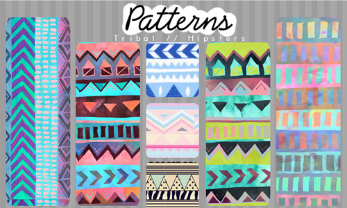 photoshop free tribal patterns