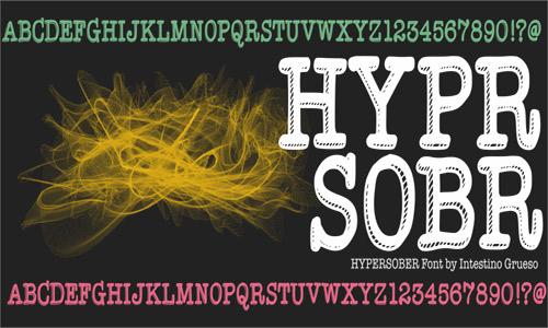 Type  free drop shadown fonts