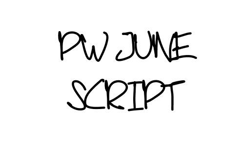 Script handwritten font