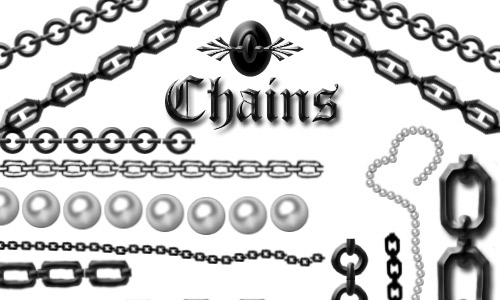 various chain photoshop brushes free