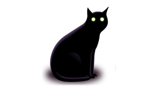 black cat icon free