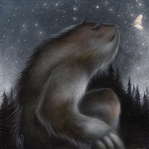 By Starlight Dan May paintings
