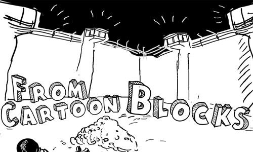 cartoon free drop shadown fonts