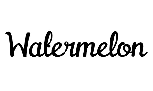 Elegant Cursive Fonts 2 Watermelon Clean