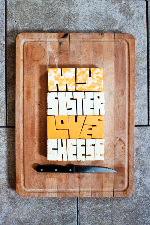Allison Supron featured Play typography designs