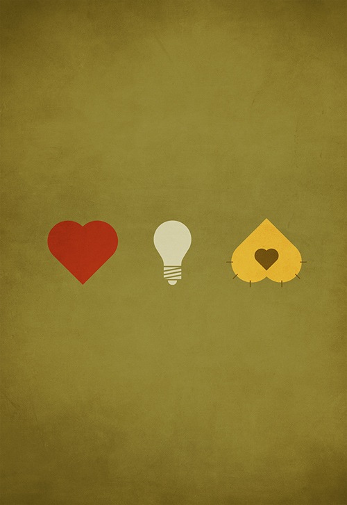 The Wizard of oz minimalist illustration sinch