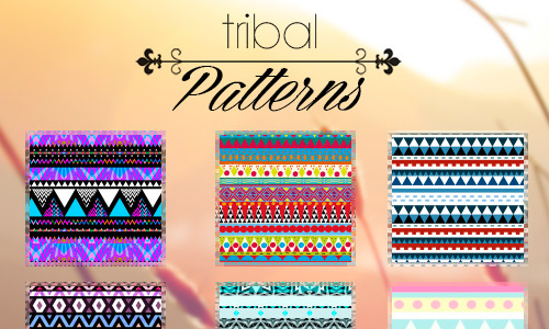 artistic free tribal patterns