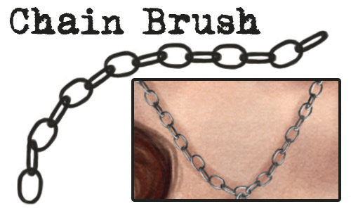 tutorial chain photoshop brushes free