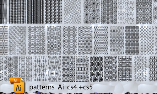 sketch illustrator patterns