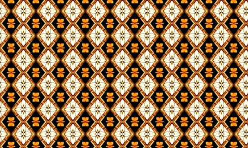 tan diamond patterns