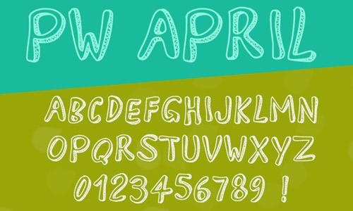 beautiful free drop shadown fonts
