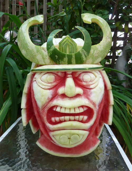 Clive Cooper featured watermelon sculptures