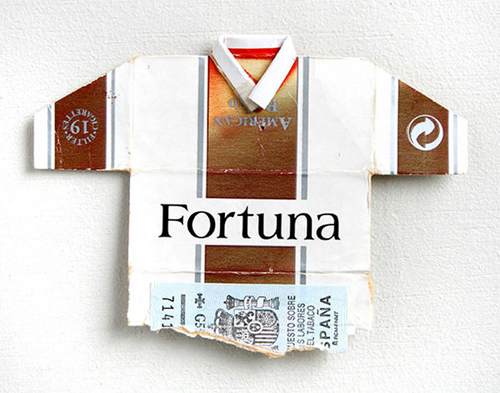Leo Fitzmaurice featured cigarette boxes soccer jerseys