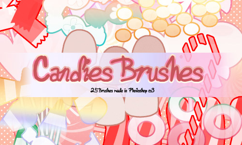 Free candies brushes