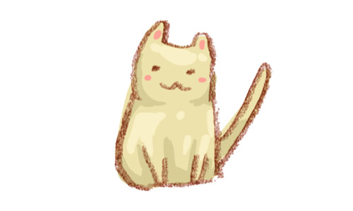Sketch cat icon