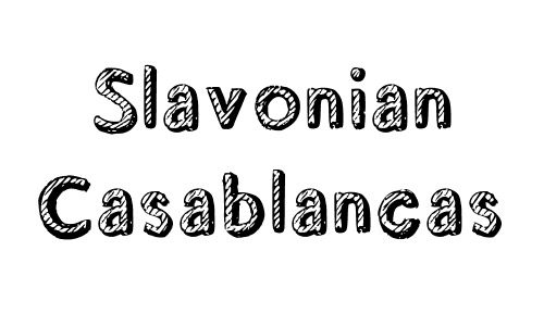 slavonian free drop shadown fonts