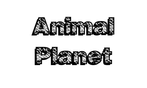 Animal  free drop shadown fonts
