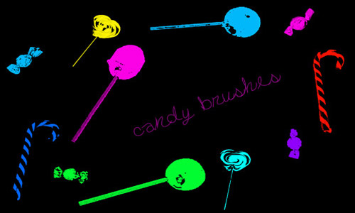 Simple sweets brushes