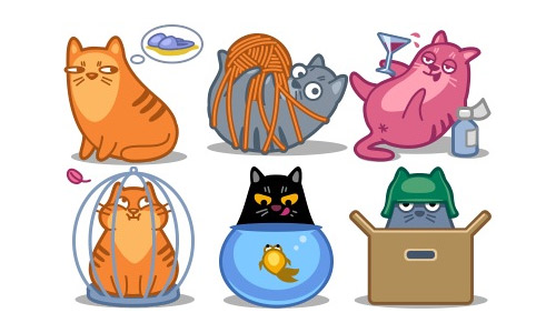 Meow cat icons free