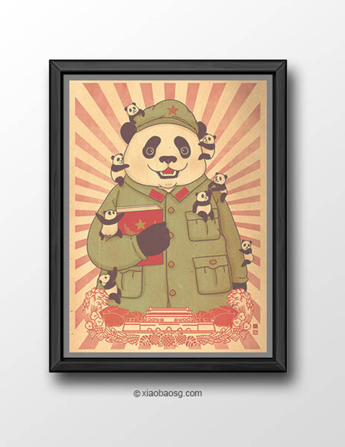 Pansanity William Chua featured panda propaganda posters