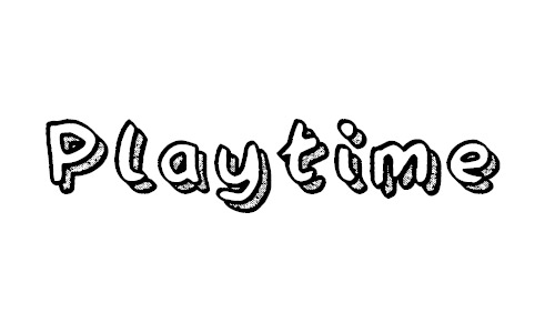 Playtime  free drop shadown fonts