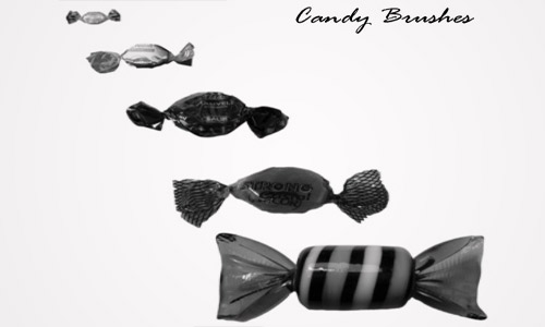 Realistic candy brushes