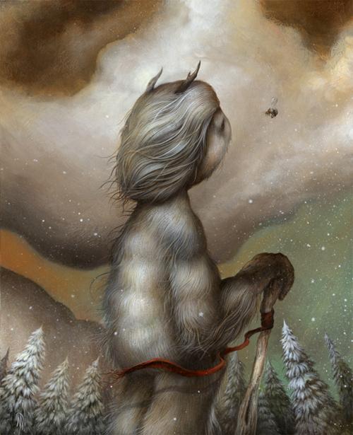 Sting of the Season Dan May paintings