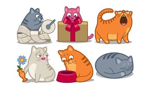 Free cat icons force
