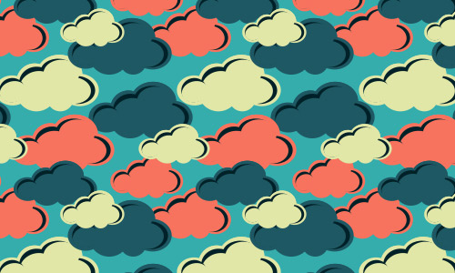 colorful clouds patterns free
