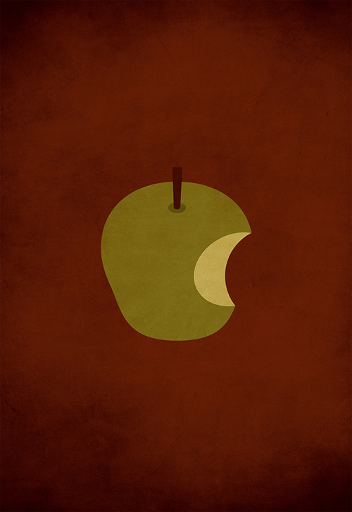 Snow White minimalist illustration sinch