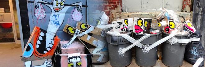 Street Trash Imaginatively Turned Into Art