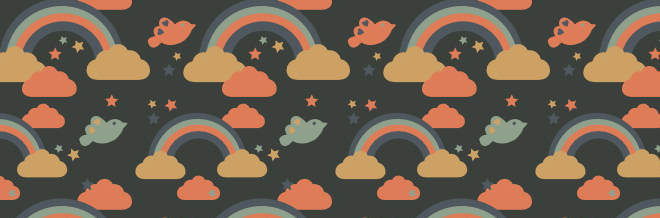 Cute And Free Cloud Patterns To Liven Your Design