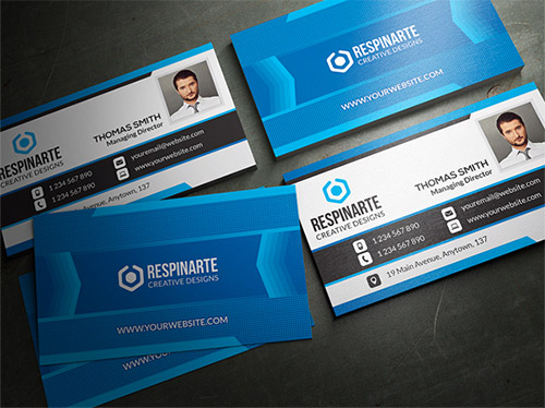 30 graphic design business cards naldz graphics blue business card designs reheart
