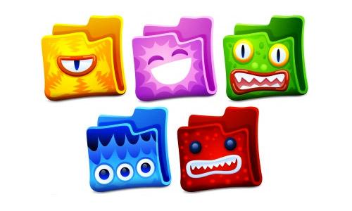 creature folder icons free