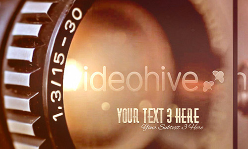 vintage after effects templates