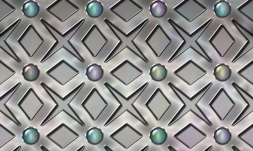 Beads metal texture seamless