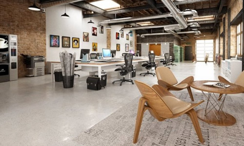 Awesome Loft Office Design Ideas Images - Decorating Interior ...