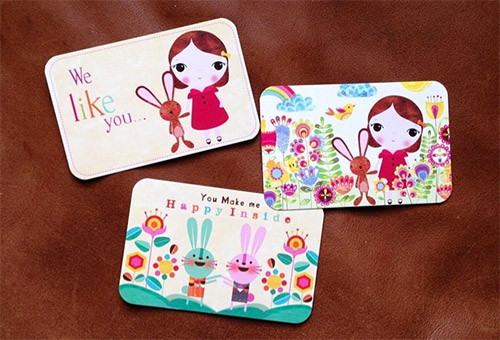 kiddy business cards