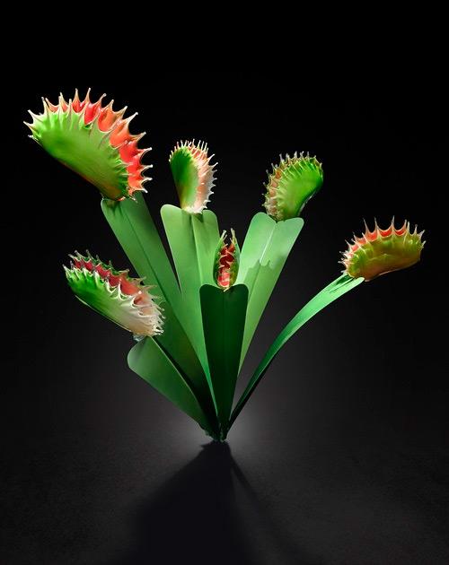 green pitcher glass art Jason Gamrath featured