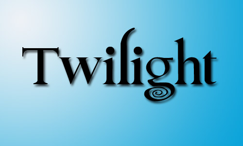 Twilight fonts