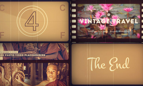 After effects vintage picture 300