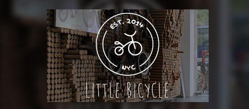 sketch bicycle logo design