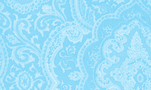 Square paisley brush