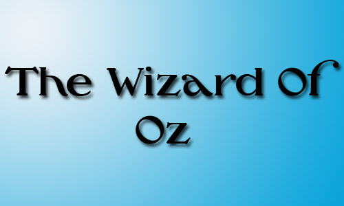 Wizard of oz font