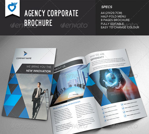 agency brochure design