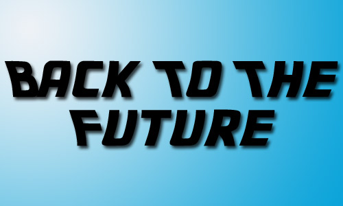 Back to the future fonts