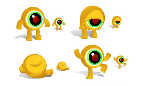 Eye creature icons free