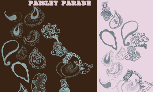Paisley photoshop brushes