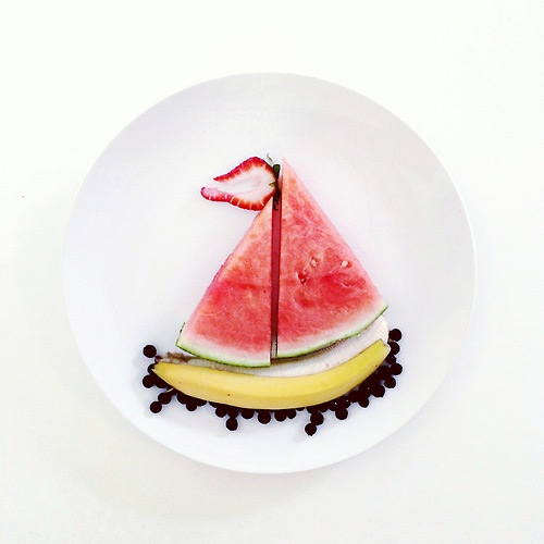 banana boat Culinary Canvas Lauren Purnell featured